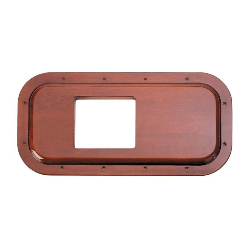 "Peterbilt Wood Shift Plate Cover 5 3/4"" x 4 7/8 Opening"