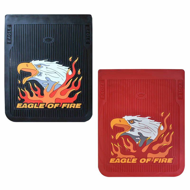 "24"" Vertical Fire Eagle Mud Flaps"
