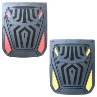 "24"" x 30"" Spider Mud Flaps With Black Background All Colors"