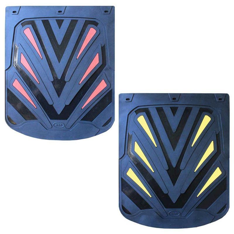 """24"""" x 30"""" Helix Mud Flaps With Black Background (Pair)"""