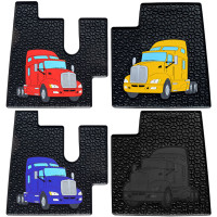 Kenworth W900 T660 T600 T800 Rubber Floor Mats All Colors