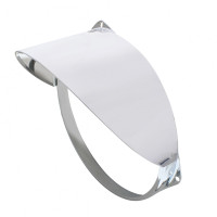 Stainless Steel Guide Headlight Visor