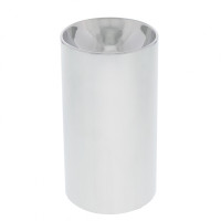 Chrome 33mm Thread On Concave Cylinder Nut Cover