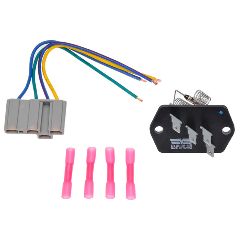 international blower motor resistor kit with harness 506552c1 rh raneystruckparts com