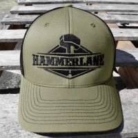 Snapback Army Green Hammer Lane Trucker Hat