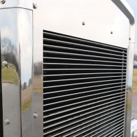 Kenworth T800 Billet Style Horizontal Bars Grill Insert
