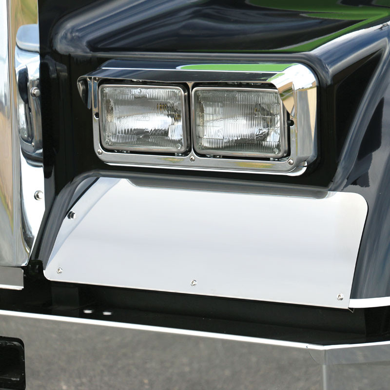 Kenworth W900L Rolled Fender Guard By RoadWorks