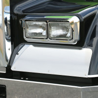 Kenworth W900L Rolled Fender Guard