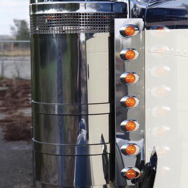 24 5 Quot Peterbilt Front Air Cleaner Light Bar By Roadworks