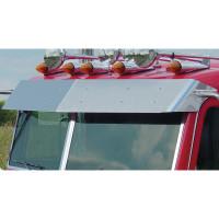 "Peterbilt 388 389 Pride & Class 11"" Flat Top Visor By Roadworks"
