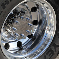 Flame Style Rear Drive Axle Cover Kit By Roadworks