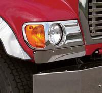 Mack Granite Cv713 02 Through 07 Wrap Around Fender Guards By RoadWorks