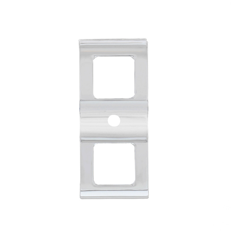 Chrome Freightliner Cascadia Switch Cover With 3 Openings