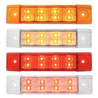 Spyder Rectangular Dual Function Clearance Marker LED Trailer Light - Styles