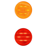 """2"""" Round Dual Function Clearance Marker LED Light"""