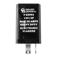Rectangular 2 Pin LED Flasher 35 Amp Max