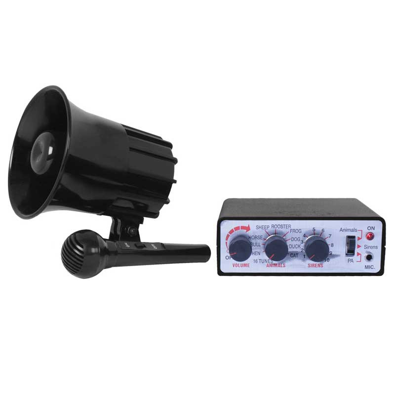 12 Volt Animal & Alarm Electric Horn By Grand General