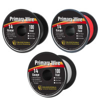 100ft Primary Wire Roll By Grand General