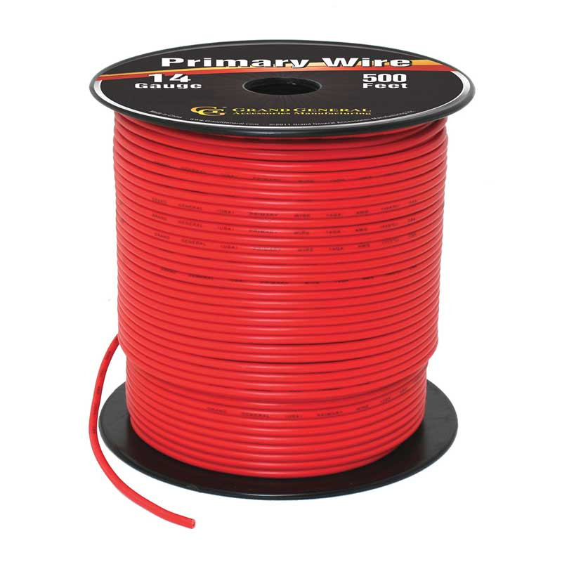 500ft Primary Wire Roll By Grand General