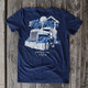 Out Of The Blue Hammer Lane Trucker T-Shirt On Pallet