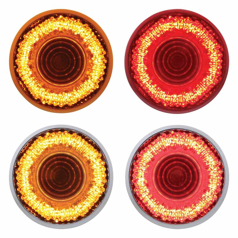 "2"" Round Mirage LED Clearance Marker Light - Styles"