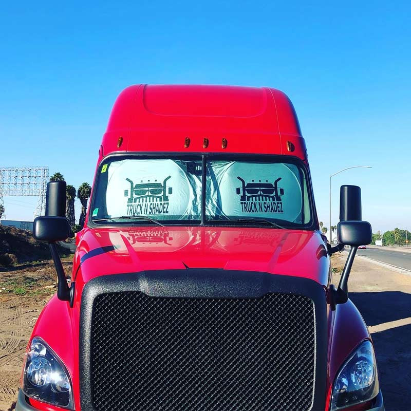 Universal Semi Truck Window Cover