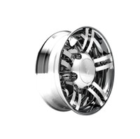 Spyder 245 Series Chrome Rear Axle Wheel Cover