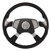 "18"" Highway Steering Wheel With Smart Gen 2 Center Pad"
