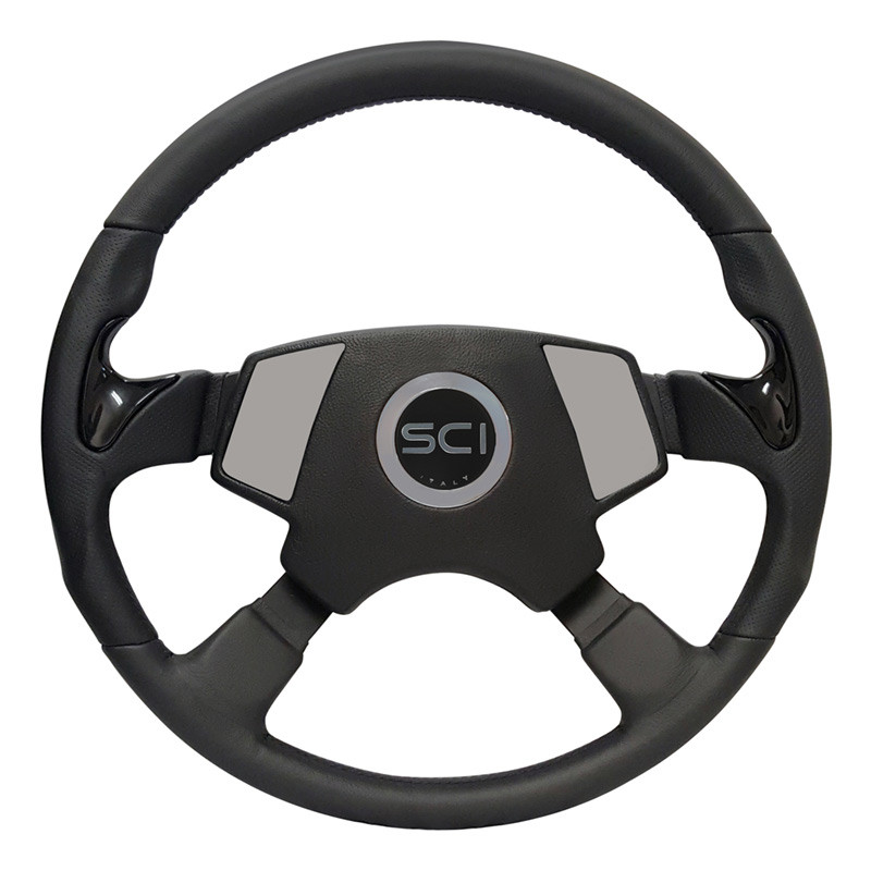 "Kenworth 18"" Stealth Smart Steering Wheel Set - Smart Gen 2 Pad"