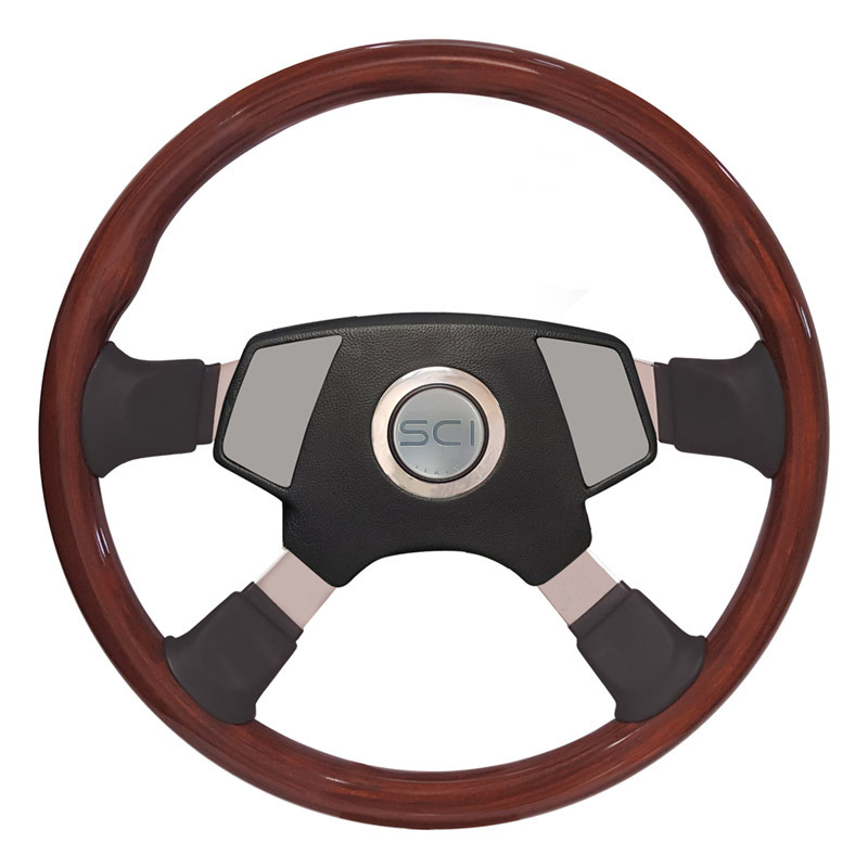 """Kenworth 18"""" Tour 4 Smart Steering Wheel Set - Smart Gen 2 Pad"""