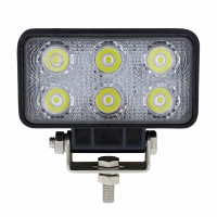 6 LED High Power Rectangular Driving And Work Light