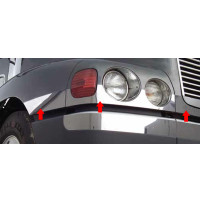 Freightliner Century Front End Trim 7 Piece Kit Angled