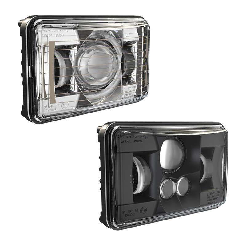 """JW Speaker 6"""" x 4"""" LED Evolution 2 Headlight Model 8800"""