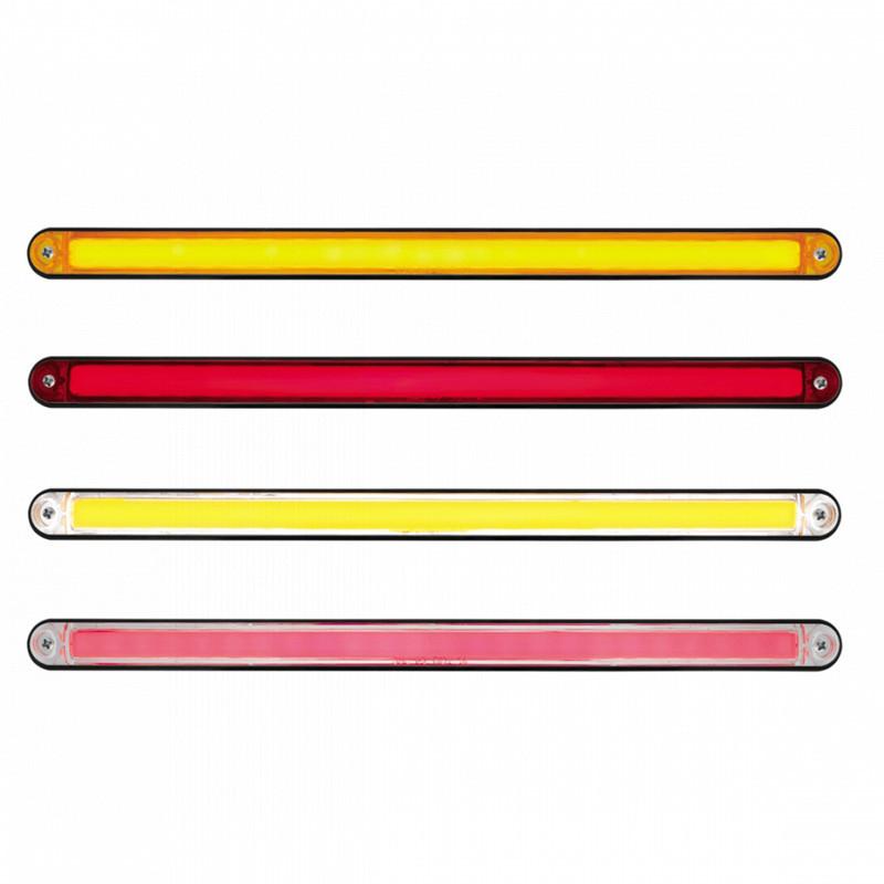 "24 LED 12"" GLO Light Bar With Black Housing - Styles"