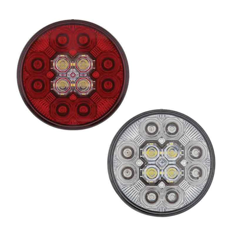 "4"" Round STT And Back-Up Combo LED Light"
