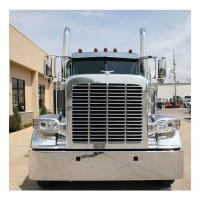 Peterbilt 388 389 2007+ Grill Surround Stainless Steel On Truck