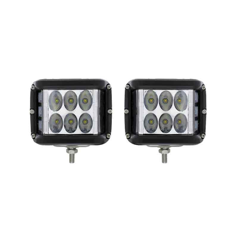 9 LED High Power Driving And Work Light With Side LED