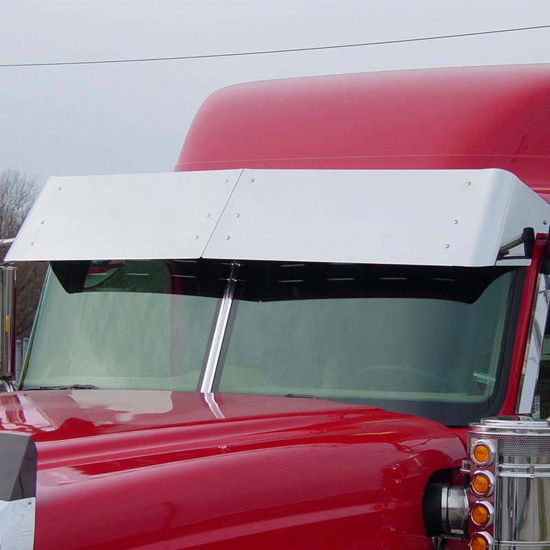 """International 5000 9000 Series 15"""" Stainless Steel Drop Visor"""