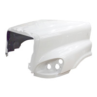 Freightliner Cascadia Hood 2008 And Newer No Hinge Bar Side View