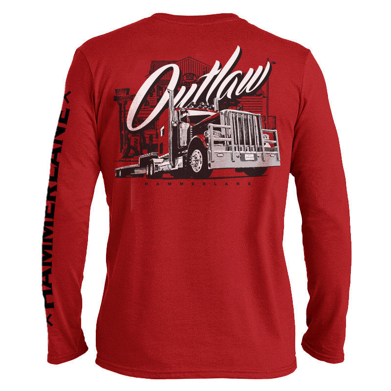 Outlaw Hammer Lane Long Sleeve T-Shirt