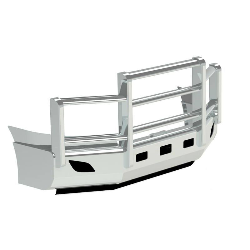 Herd Grill Guards : Freightliner cascadia herd aeroplus bumper grill guard