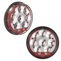 "JW Speaker 4"" LED Heated Stop And Tail Light Model 234"