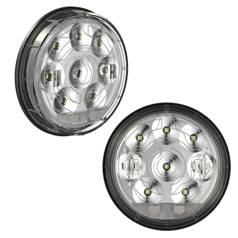 JW Speaker 4 LED Heated Reverse Light Model 234