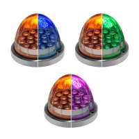 Dual Revolution LED Turn Signal And Marker Light