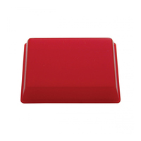 Red Rectangular Replacement Dome Light Lens