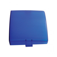 Blue Square Replacement Dome Light Lens