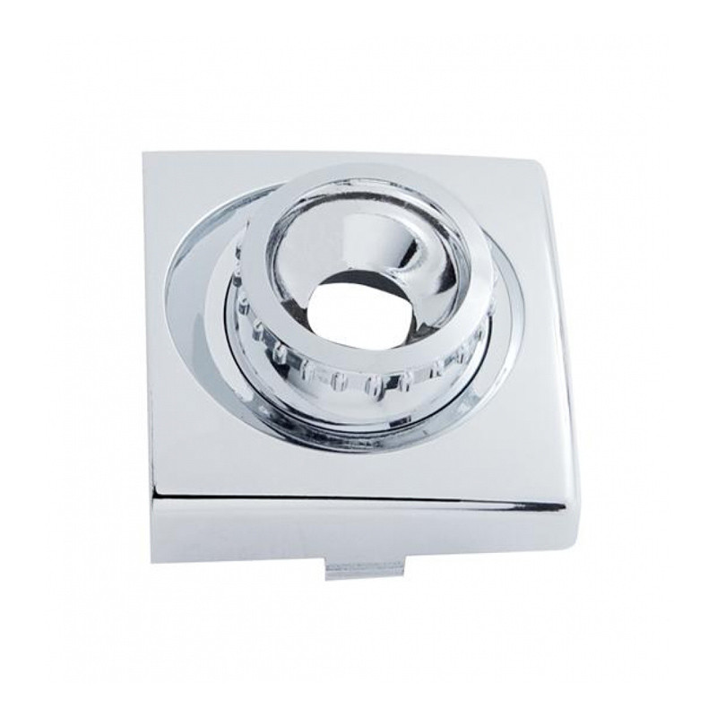 Round Chrome Swivel Dome Map Light Replacement Base