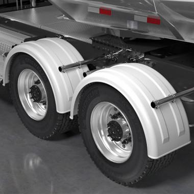 Minimizer 2220 Series White Poly Super Single Truck