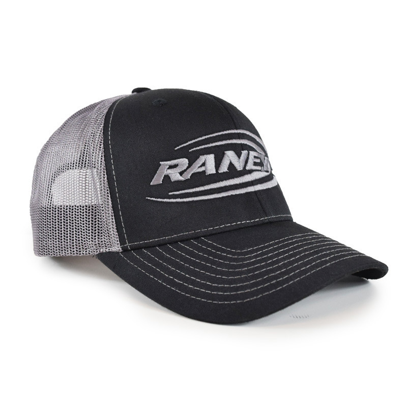 Raney's Charcoal & Silver Snapback Hat Side