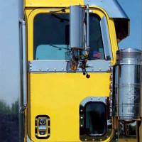 International 9370 Cab Window Air Deflector By Roadworks